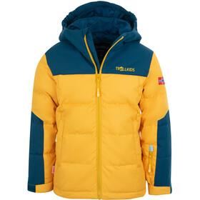 TROLLKIDS Narvik XT Chaqueta Niños, amarillo/azul
